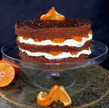 Chocolate Orange and Grand Marnier layer cake