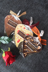 Valentine's Day Chocolate Gifts for her women Chocolate Heart Bars