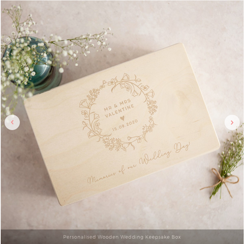 keepsake box wedding present guide