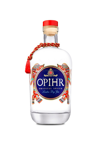 Ophir oriental gin matched with 70% dark chilli chocolate bar