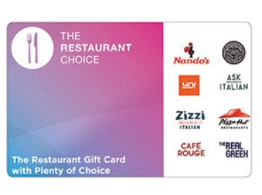 wedding present ideas restaurant vouchers