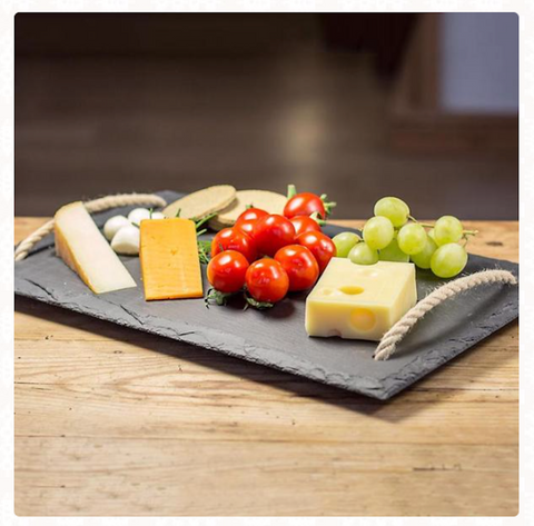 Unique Wedding presents welsh slate cheeseboard
