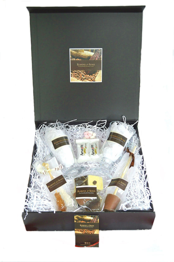 Luxury Belgian Chocolate Coffee gift box UK Corporate gifts milk white dark