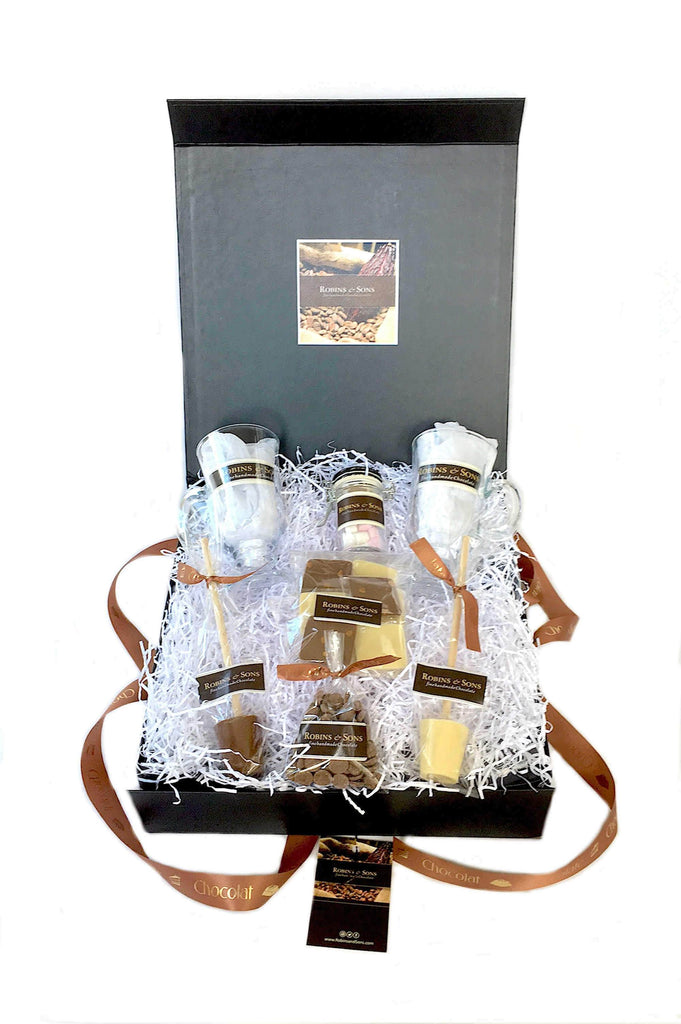 Luxury Business corporate gift ideas - luxury hot chocolate gift box