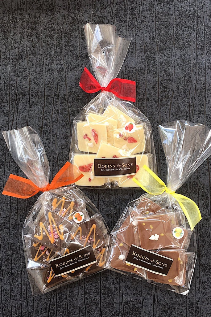 Luxury Belgian chocolate gifts under 10, chocolate gift bags