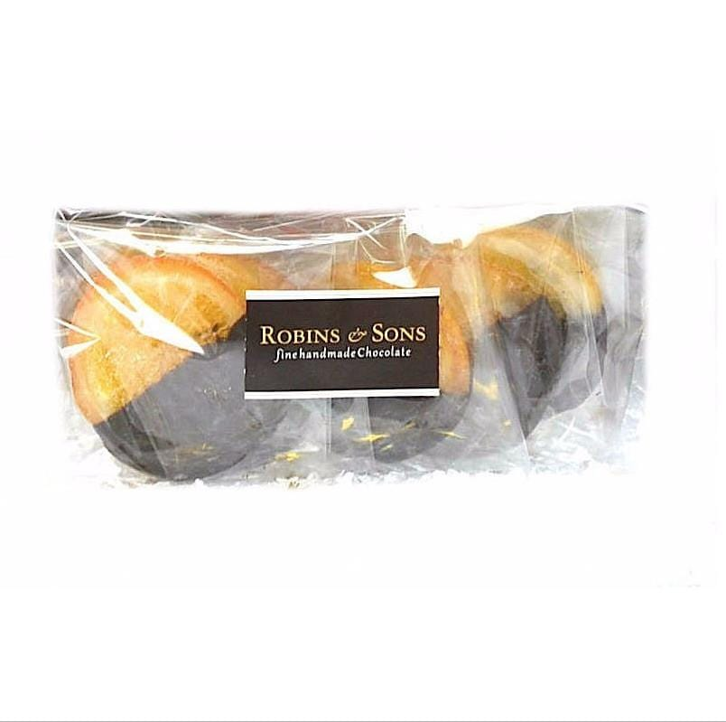 luxury dark chocolate candied oranges gift boxes hampers online