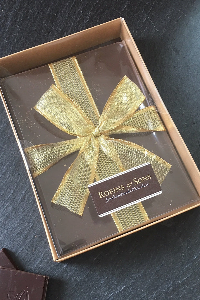 Luxury 80% Dark chocolate gift boxed bar UK