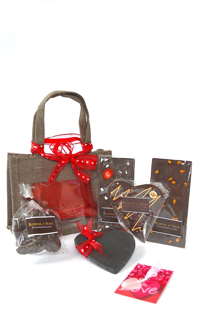 Luxury Valentine gift for women. Finest chocolate buy uk