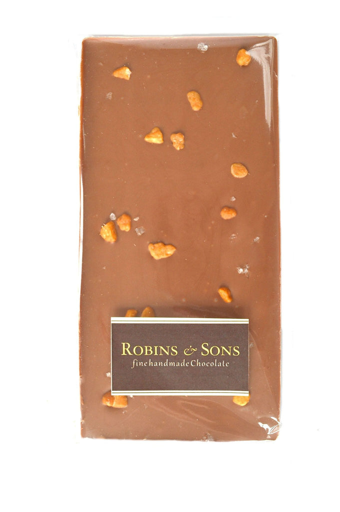 Luxury Milk Chocolate with salted caramel and sea salt buy online