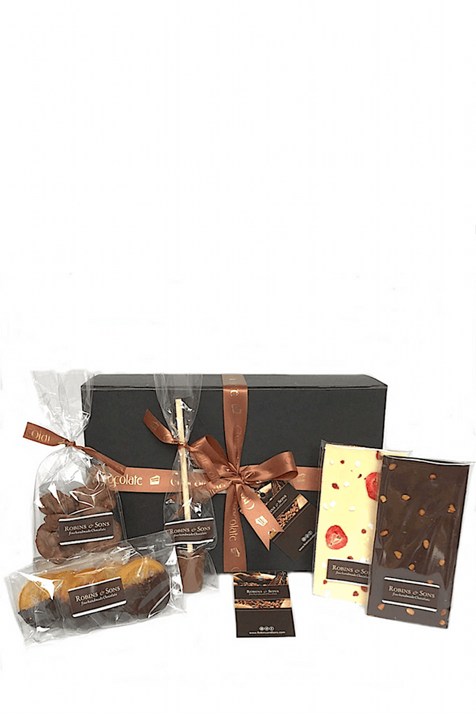 Luxury Belgian milk, white and dark chocolate Selection Gift Box