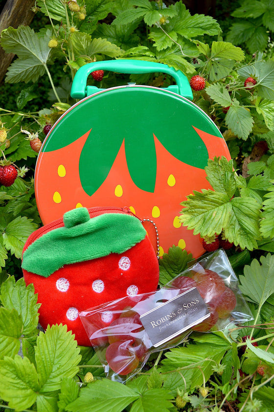 Strawberry Tin Gift Set