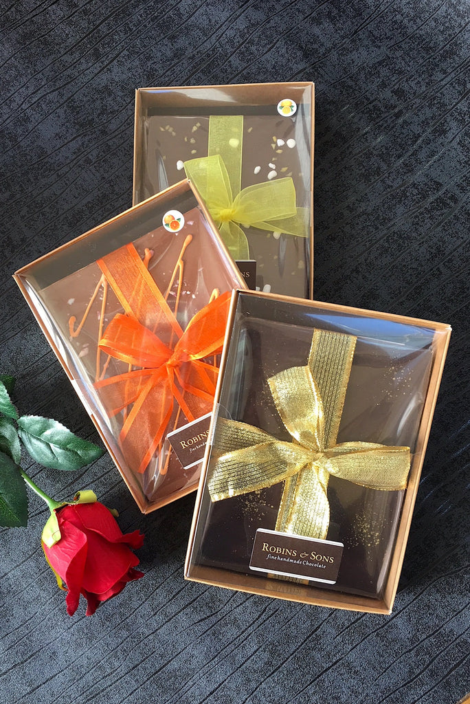 Chocolate Gift Boxed Bars - Assorted