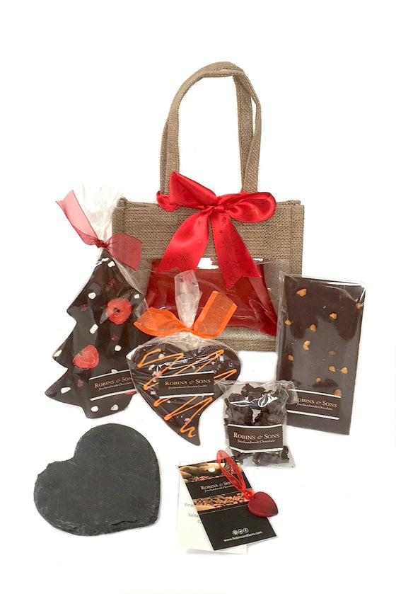 Christmas Ruby Gift Bag - Dark