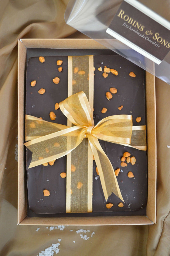 Salted Caramel gift corporate Bag dark chocolate buy online
