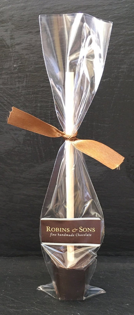 Individual Hot Chocolate Stirrers - Plain and Flavoured