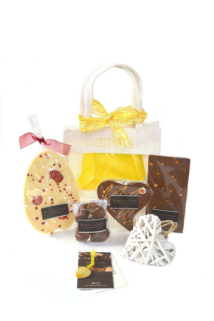 Luxury Chocolate Easter Egg gift bag buy online uk