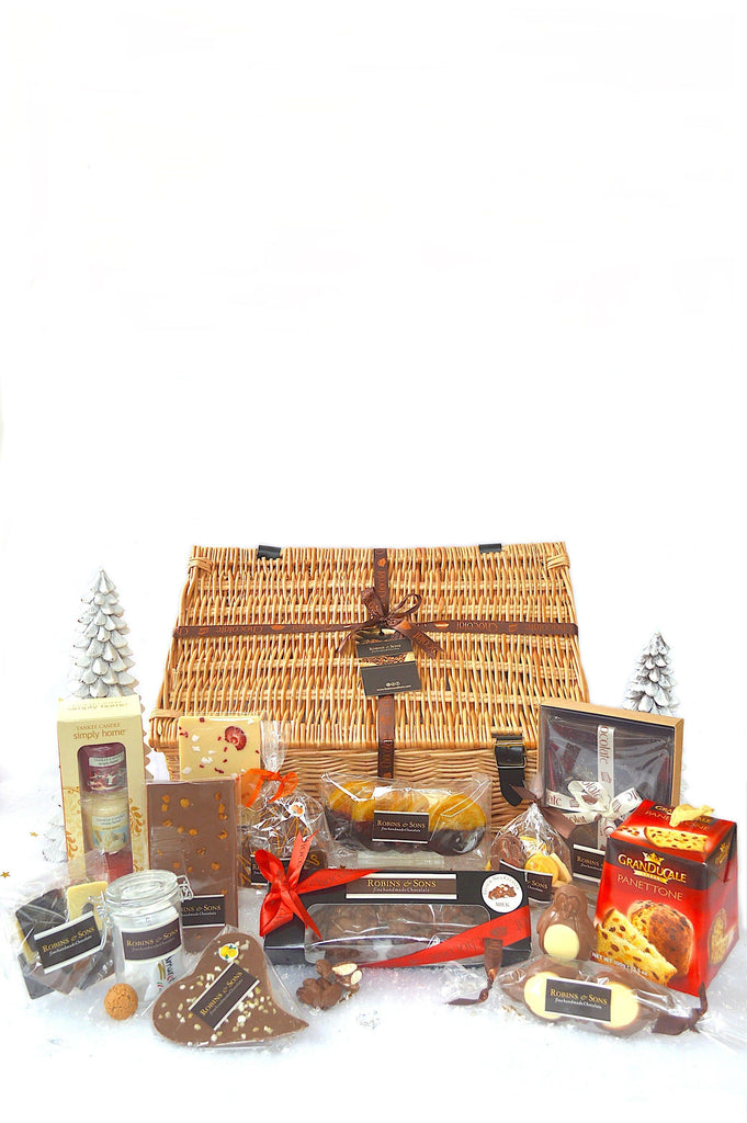 Luxury Christmas Food and Chocolate Gift Hamper UK