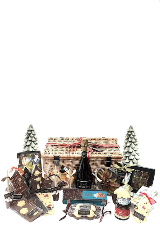 Luxury large Christmas Food and Chocolate hamper