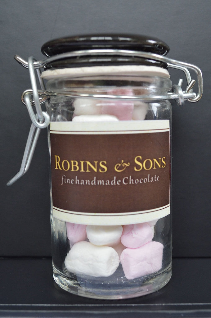 Luxury corporate Hot chocolate gift box marshmallows jar
