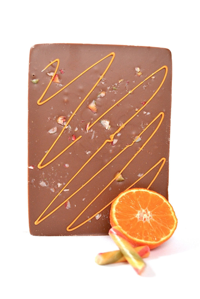 Luxury Milk chocolate and orange boxed bar gift