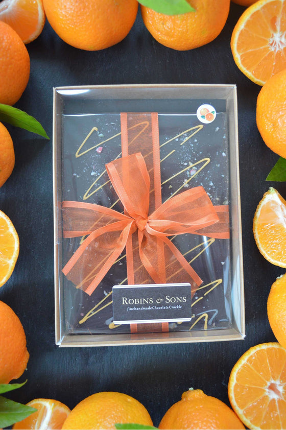 Buy luxury dark chocolate orange bars online UK