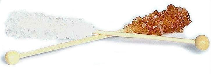 buy online white brown sugar swizzle sticks coffee
