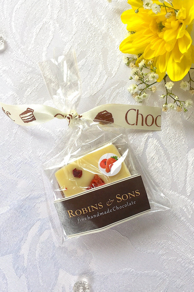 Wedding Favour - Cream and Mocha Ribbon (Mixed)