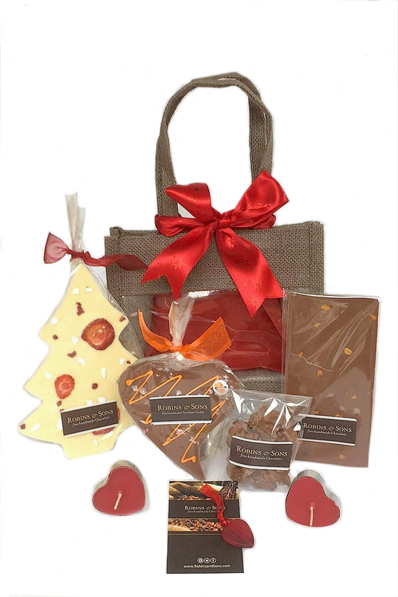 Luxury brand Milk and White Chocolate Gift Bags buy UK