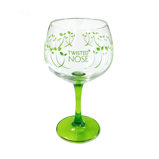 Twisted Nose Copa Glass