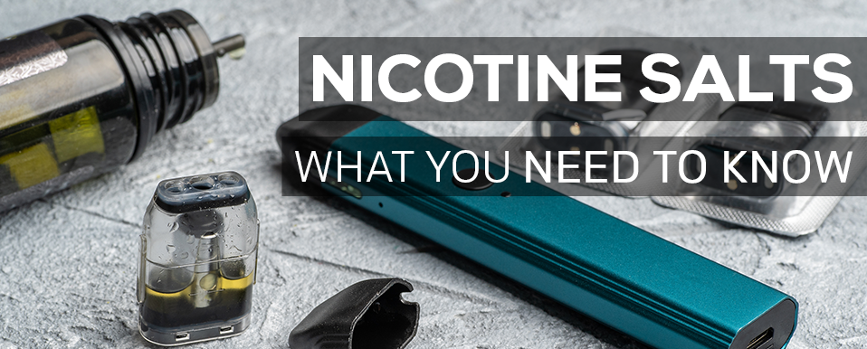 Buy Nicotine Salt E-liquid in Canada