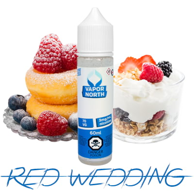 Vapor North Red Wedding E-liquid