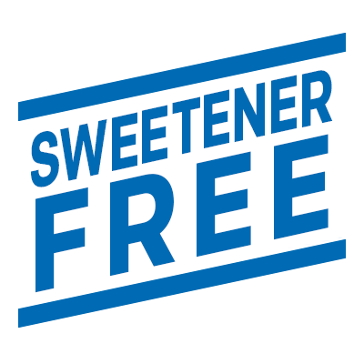 Sweetener free e-liquid