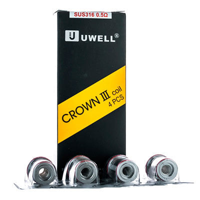 Uwell Crown 3 Replacement Coils (4-Pack)
