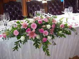 Wedding Top Table Displays