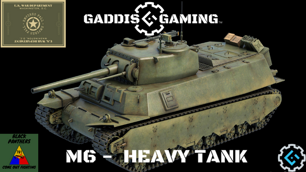 "Gaddis Gaming ""WHAT IF"" TANKS"