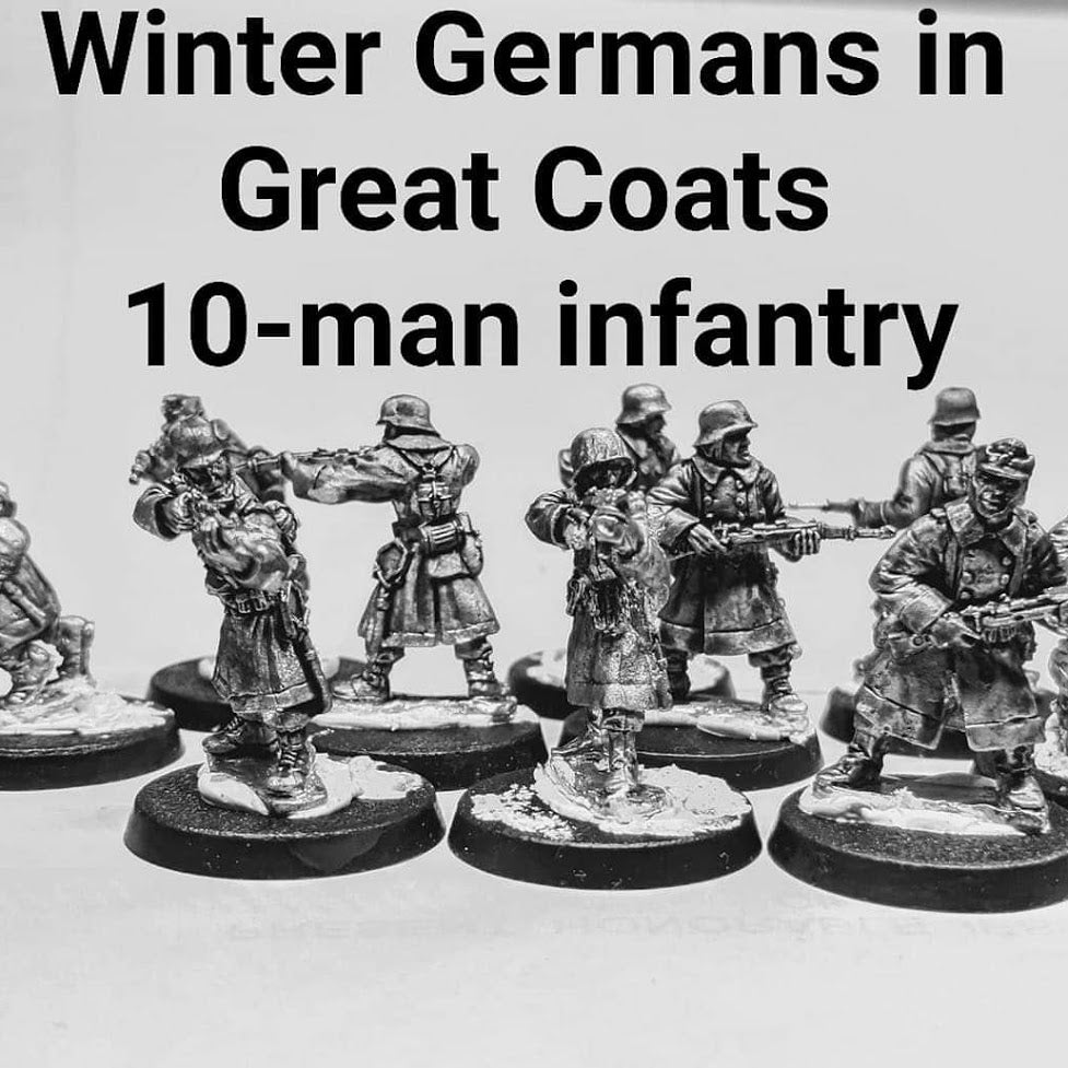 Early review of the WWII Winter Germans