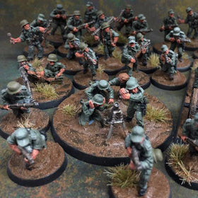 28mm WWII Miniatures - Germans