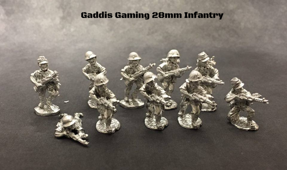 28mm WWII Miniatures - Japanese