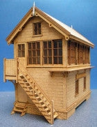 Signal Box based on the GC Killamarsh Box - in 4mm & 7mm