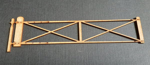 2 Panel crossbars Level Crossing Gate