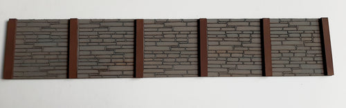 Dockside Walling - 7mm