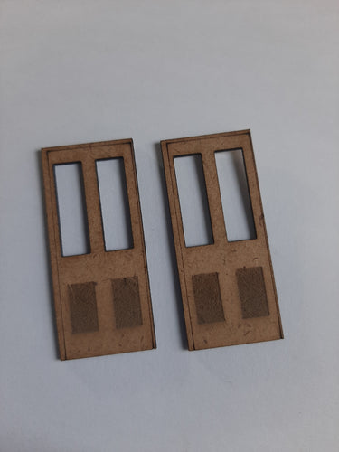 Door Pack Small of 4 - in 00 gauge 4mm