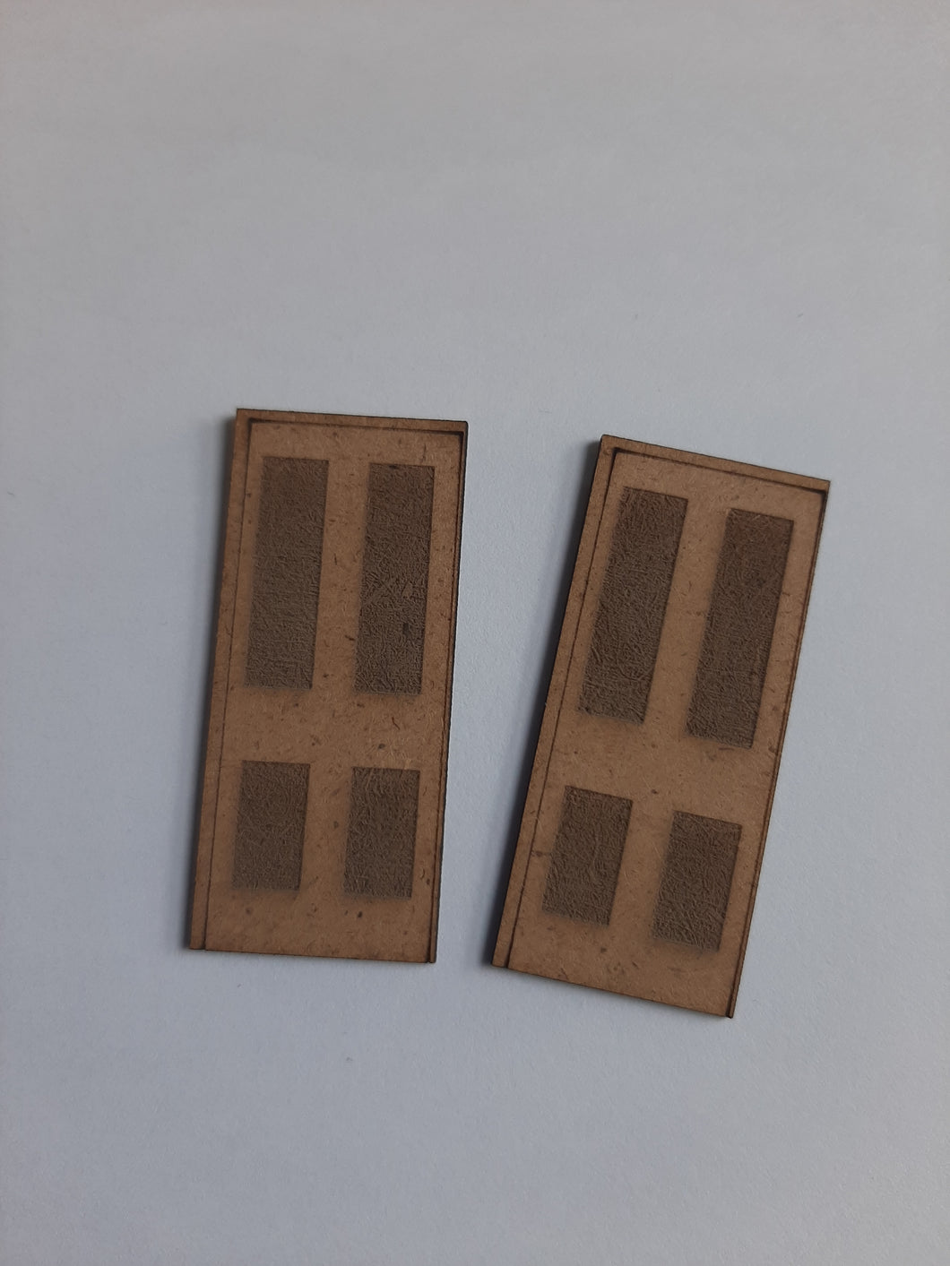 Door Pack Small of 4 - in 0 gauge 7mm