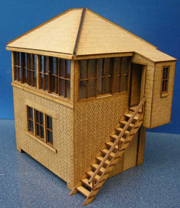 Signal Box based on Alston LNER - in 7mm