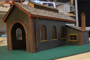 Engine Shed based on Helston - GWR