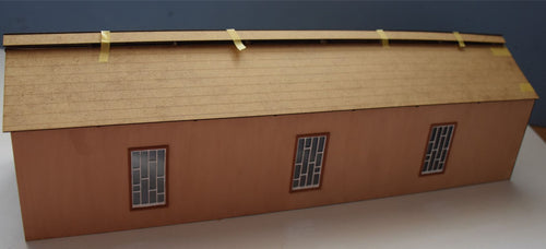 Coach Shed based on Helston GWR - 7mm