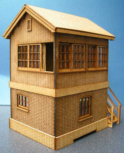 Signal Box based on Helston GWR - in 4mm & 7mm