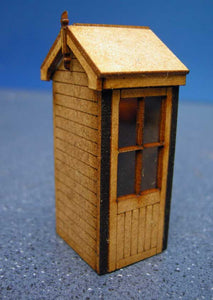 Signal Box based on Type 5 Size D Tall LNWR - in 7mm