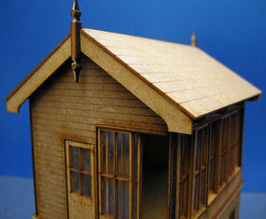 Signal Box based on Type 5 Size D LNWR - in 7mm