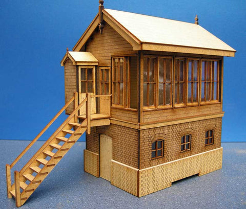 LNWR Type 5 Size D Signal Box in 7mm